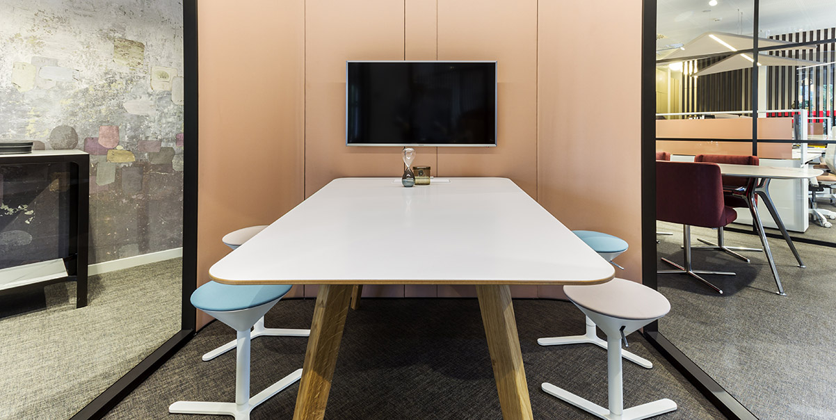 office booth furniture