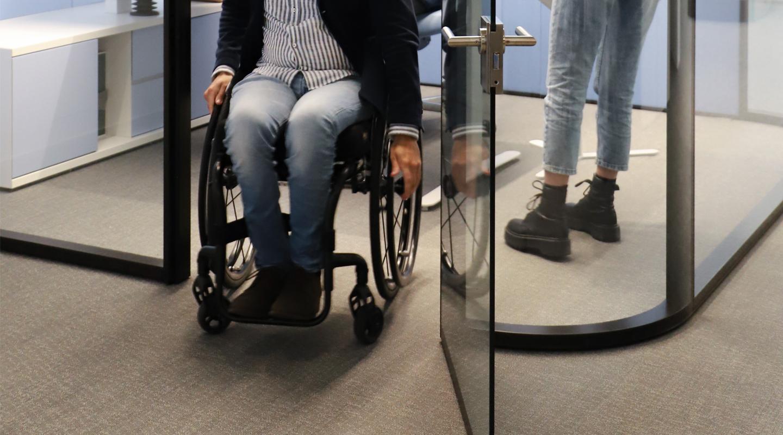 sala riunione con accesso disabili - estel