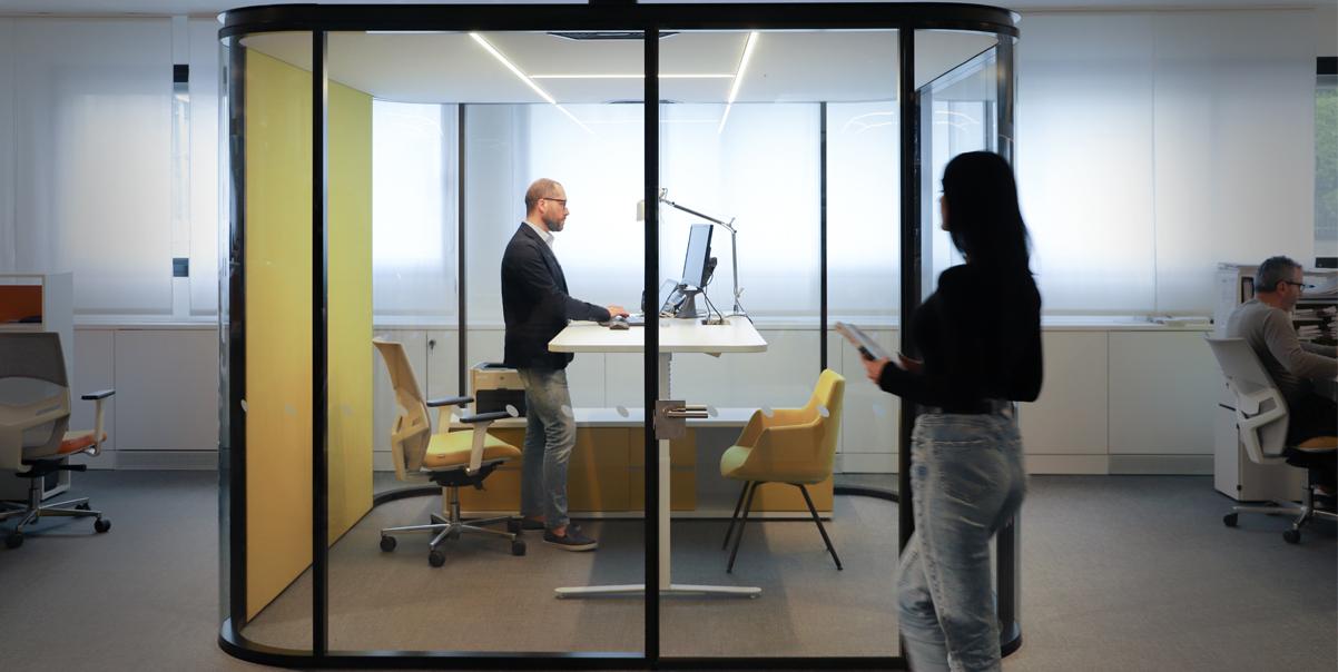 soundproof office pods - estel