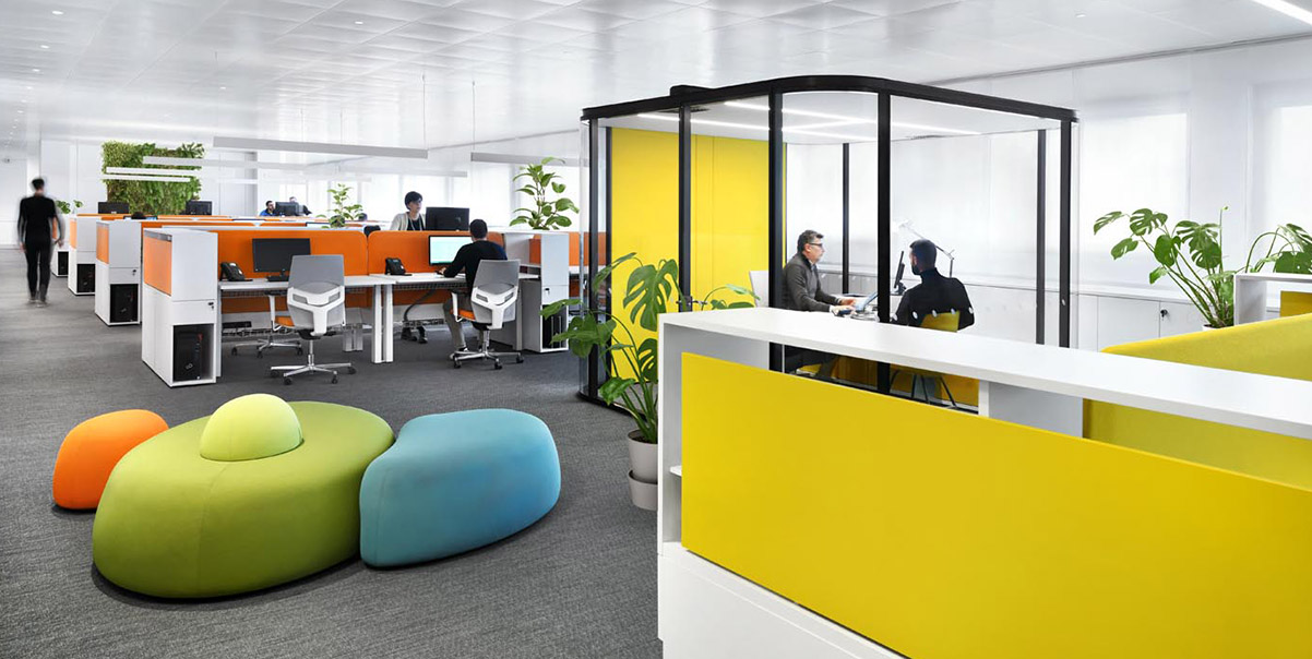 cabina isolante da ufficio