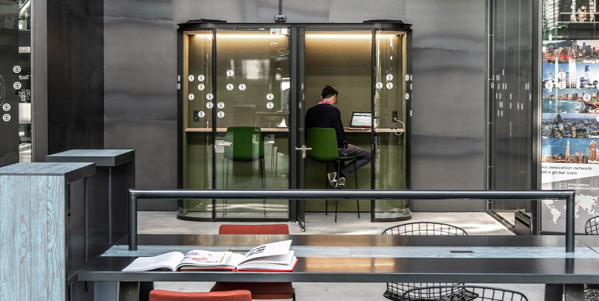 indoor office pod