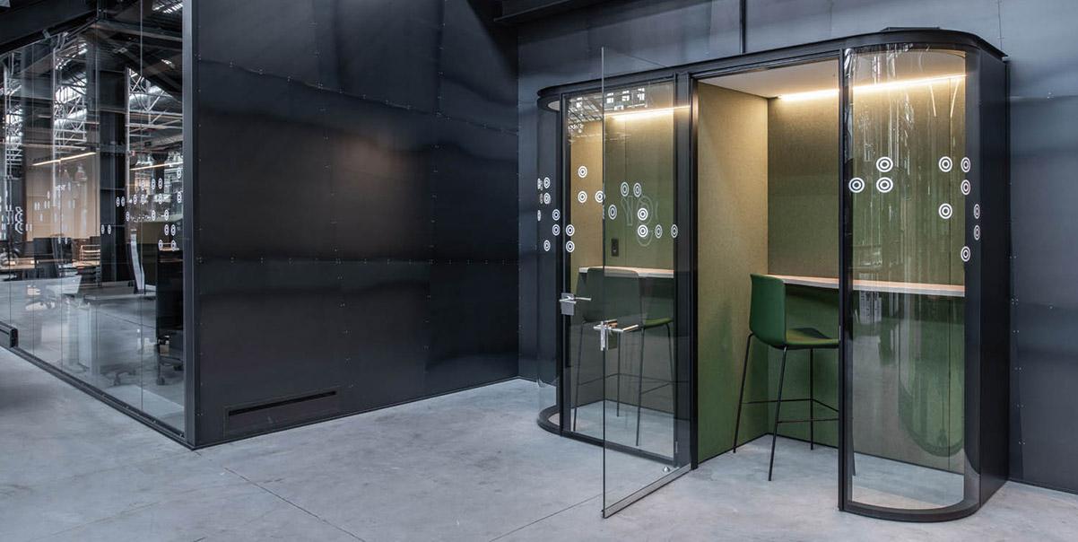 cabina telefonica ufficio