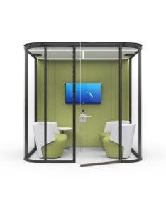 office work booth - estel