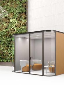 cabine insonorizzate ufficio - estel